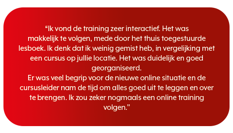 Online training quote